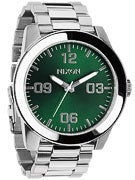 Nixon The Corporal SS Watch  Green Sunray