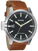 Nixon The Chronicle Watch  Black/Saddle