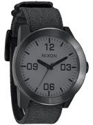 Nixon The Corporal Watch  Matte Black/Matte Gunmetal
