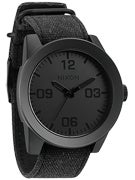 Nixon The Corporal Watch  All Black