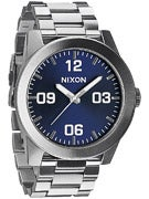 Nixon The Corporal SS Watch  Blue Sunray