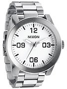 Nixon The Corporal SS Watch  White