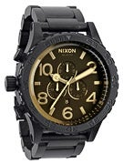 Nixon The 51-30 Chrono Watch  Matte Black/Orange