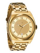 Nixon The Monopoly Watch  All Gold