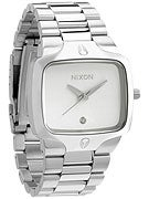Nixon The Player Watch  Silver