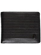 Nixon Pass Bi-Fold ID Leather Wallet