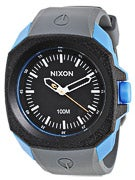 Nixon The Ruckus Watch  Black/Sapphire/Gray