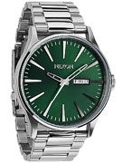 Nixon The Sentry SS Watch  Green Sunray