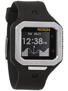 Nixon The Supertide Watch  Black/Silver