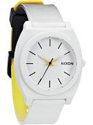 Nixon The Time Teller P Watch  Black/White/Yellow Fade