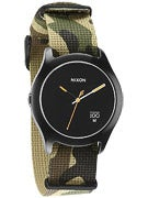 Nixon The Quad Watch  Woodland Camo