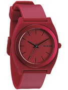Nixon The Time Teller P Watch  Dark Red Ano