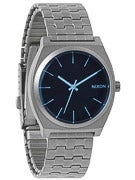 Nixon The Time Teller Watch  Gunmetal/Blue Crystal