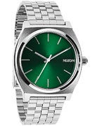 Nixon The Time Teller Watch  Green Sunray