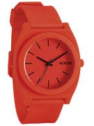 Nixon The Time Teller P Watch  Neon Orange