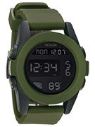 Nixon The Unit Watch  Matte Black/Surplus