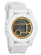 Nixon The Unit 40 Watch  All White/Gold