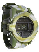 Nixon The Unit Watch  Marbled Camo