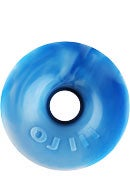 OJ Thunder Juice 78a Blue/White Swirls Wheels