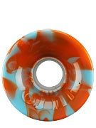OJ Hot Juice 78a Orange/Blue Swirl Wheels
