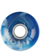 OJ Hot Juice 78a Swirls Blue/White Wheels
