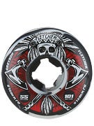 OJ Fletcher Tomahawk 101a Wheels Black/White Swirls