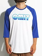 Omit 70's Sunset Raglan Shirt
