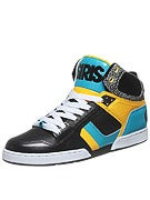Osiris NYC 83 Shoes  Black/Cyan/Yellow