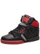 Osiris NYC 83 Shoes  Black/Red/Elephant