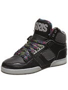 Osiris NYC 83 Shoes  Black/Silver/Trifecta