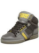 Osiris NYC 83 Shoes  Charcoal/Yellow/Tri