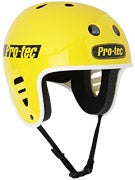 Protec Classic Full Cut Skateboard Helmet  Yellow