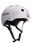 Protec The Classic Skateboard Helmet Gloss White