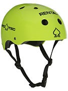 Protec The Classic Skateboard Helmet Gloss Rental Ylw