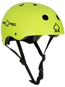 Protec The Classic Skateboard Helmet  Satin Citrus