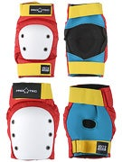 Protec Street Knee & Elbow Pad Set  Retro