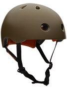 Protec Street Lite Skateboard Helmet Satin Army Green