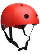 Protec Street Lite Skateboard Helmet Satin Blood Orange