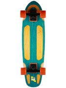 Pickle Board Co Pickle Deck w/Channels Turq.  7.5 x 29