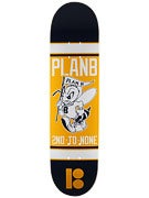 Plan B Bee Logo Mini Deck  7.5 x 29.5