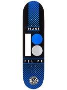 Plan B Felipe Halftone P2 Deck 7.8 x 32