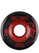 Powell Gravel Grinders Wheels Red