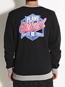 Plan B Letterman Crew Sweatshirt