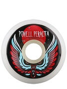 Powell White Bomber 85a Wheels
