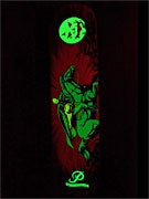 Primitive Horseman Glow-In-The-Dark Deck 8.0 x 31.75