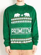 Primitive Jolly Bear Crewneck Sweatshirt