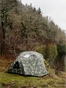 Poler One Man Tent  Furry Green Camo