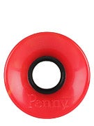 Penny Supersmooth 78A Swirl Red/Yellow Wheels