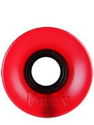 Penny Supersmooth 78A Transparent Red Wheels