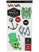 RVCA 10 Sticker Pack 1
